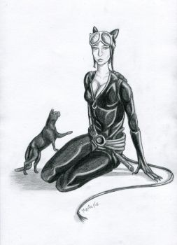 Catwoman by VieraBo-nie
