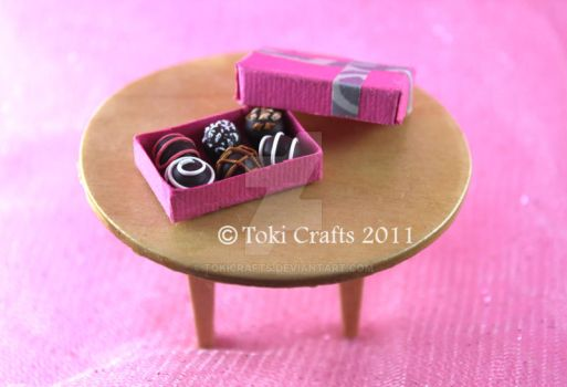 Miniature truffles by TokiCrafts
