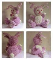 4 eared bunny crochet by andricongirl