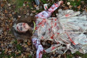 Zombie Princess 5 by RazorxBladexPhotos