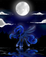 Princess of the Night by Oscarina1234
