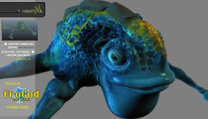 Water Frog _ froGod The Game by robot51ck