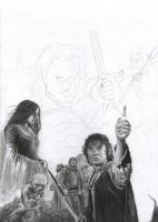 Lord of the Rings WIP 4 by D17rulez