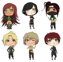 CM: Chibi Group 2 by Chloeeh