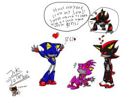 Metal Sonic's son 9 by Jolleboi