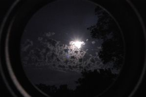 Supermoon Vignetted by GillianIvy