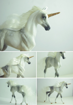 OOAK Unicorn Foal by SovaeArt