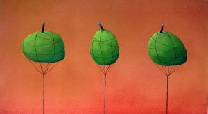 Floating Apple Trees by bolaker