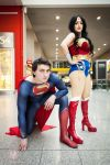 Superman and Wonder Woman Hitting up LSCC by faramon