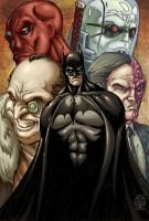 Batman: Bad Company by PsychoSlaughterman