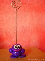 Portafoto in Fimo by natyna82