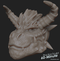 Bowser - 60-Minute Practice Sculpt by GaryStorkamp