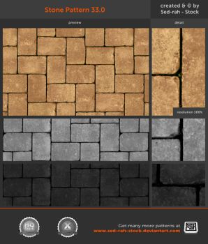 Stone Pattern 33.0 by Sed-rah-Stock