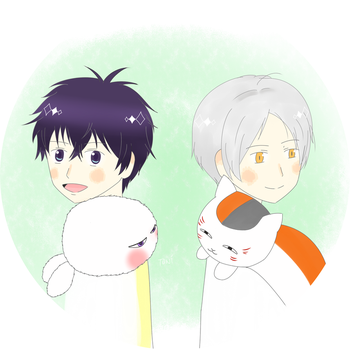 Natsume Week Day 7 by cloudysmile3424