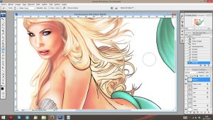 Mermaid WIP by jocachi