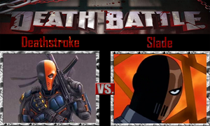 Deathstroke vs Slade by SonicPal