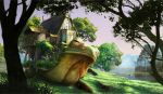 Frog/snail/giant house carrying thing by DolovcakJosip