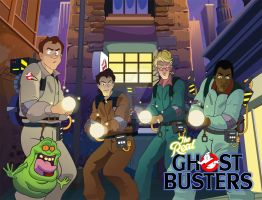 Ghostbusters by gyrfalcon65