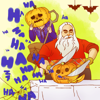 RotG:  pumpkinstuck 4 by hyokka