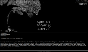 You are never alone Journal Skin by ShadowBreath