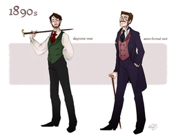1890s man fashion by Nibilondiel
