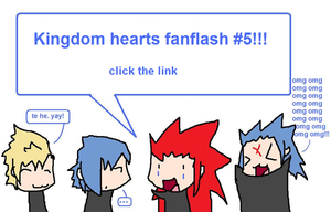Kingdom Hearts Fanflash 5 by Brixyfire