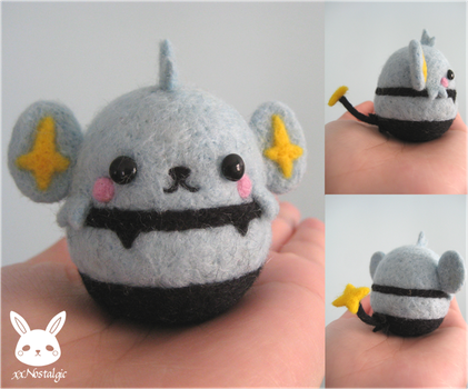 Felted Shinx by xxNostalgic