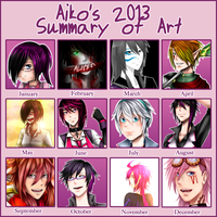 2013 Summary of Art by Aiko188