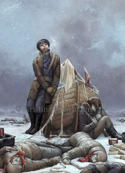 Last Man Standing - Franklin's Lost Expedition by KristinaGehrmann