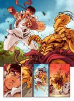 Street Fighter Unlimited Issue 6 - Page 1 by edwinhuang