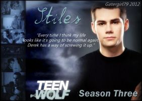 Teen Wolf - Stiles - Every Time I Think.... by Gatergirl79