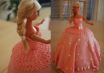 Barbie cake by Vilvitalt
