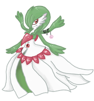 mega gardevoir (fakemon) by tiffanykip
