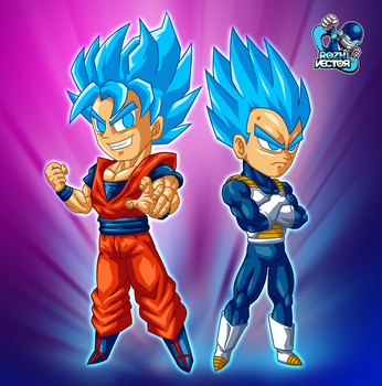 BLUE POWER by rozhvector