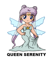 #119: Queen Serenity by TinySailorMoon