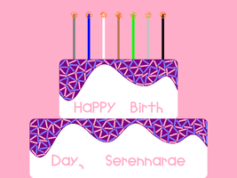 Happy B-day ''serennarae'' by NicLove