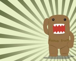 Domo Kun Wallpaper by lukerman