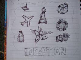 Inception Sketch Dump by JA-BohoQuirks