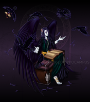 Cimmerian the Master Librarian by Omnicenos