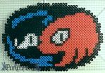 Sonic & Knuckles Logo by PerlerPixie