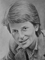 Michael J. Fox II by danita-sonser