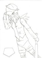 spiritual slugger -uncolored- by loopmaker