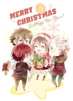 .Merry Christmas. by Hetiru