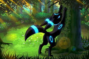 Shiny Umbreon Umbra by NightAngelTDC