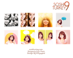 Sooyoung Icon Pack by soshiturkey