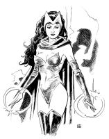 Scarlet Witch Baltimore Sketch by deankotz