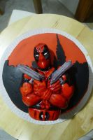 deadpool fondant by ALI-MALBICHO