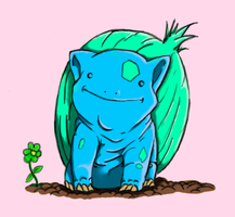 Bulbasaur by PrinceofOrlais