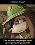 [Gift] I am not Some Creature by BUGHS-22