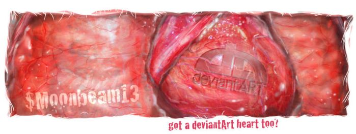 Got a deviantART heart too? by xdoodle